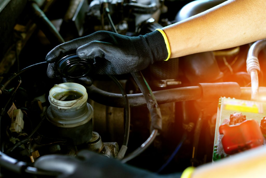 Engine Oil Color